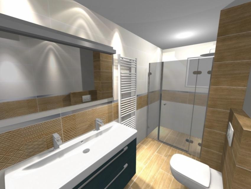 Vizualizácia kúpeľne Bratislava